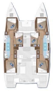 lagoon 50 layout
